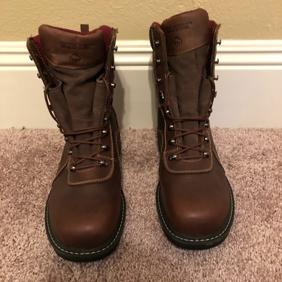 9cfb4a3bea7 Wolverine steel-toe work boots